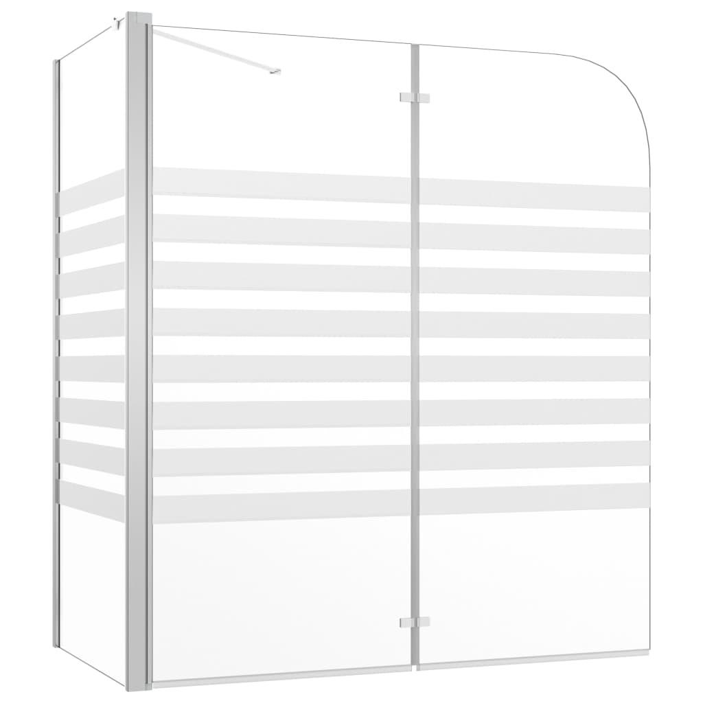 Vanniümbris, 120 x 68 x 130 cm karastatud klaasi..