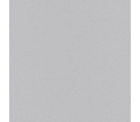vidaXL 4 бр ролки нетъкани тапети, блестящо светлосиви, 0,53x10 м