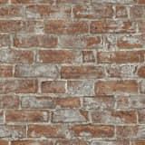 vidaXL Netkane role zidnih tapeta 4 kom smeđe-crvene 0,53 x 10 m