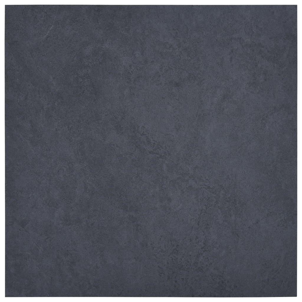 Samolepící podlahové desky 5,11 m² PVC černý mramor