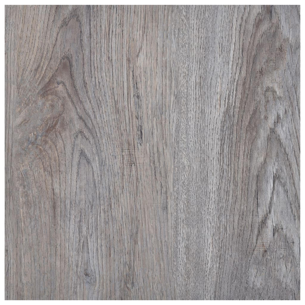 Samolepicí podlahové desky 5,11 m² PVC světle hnědé