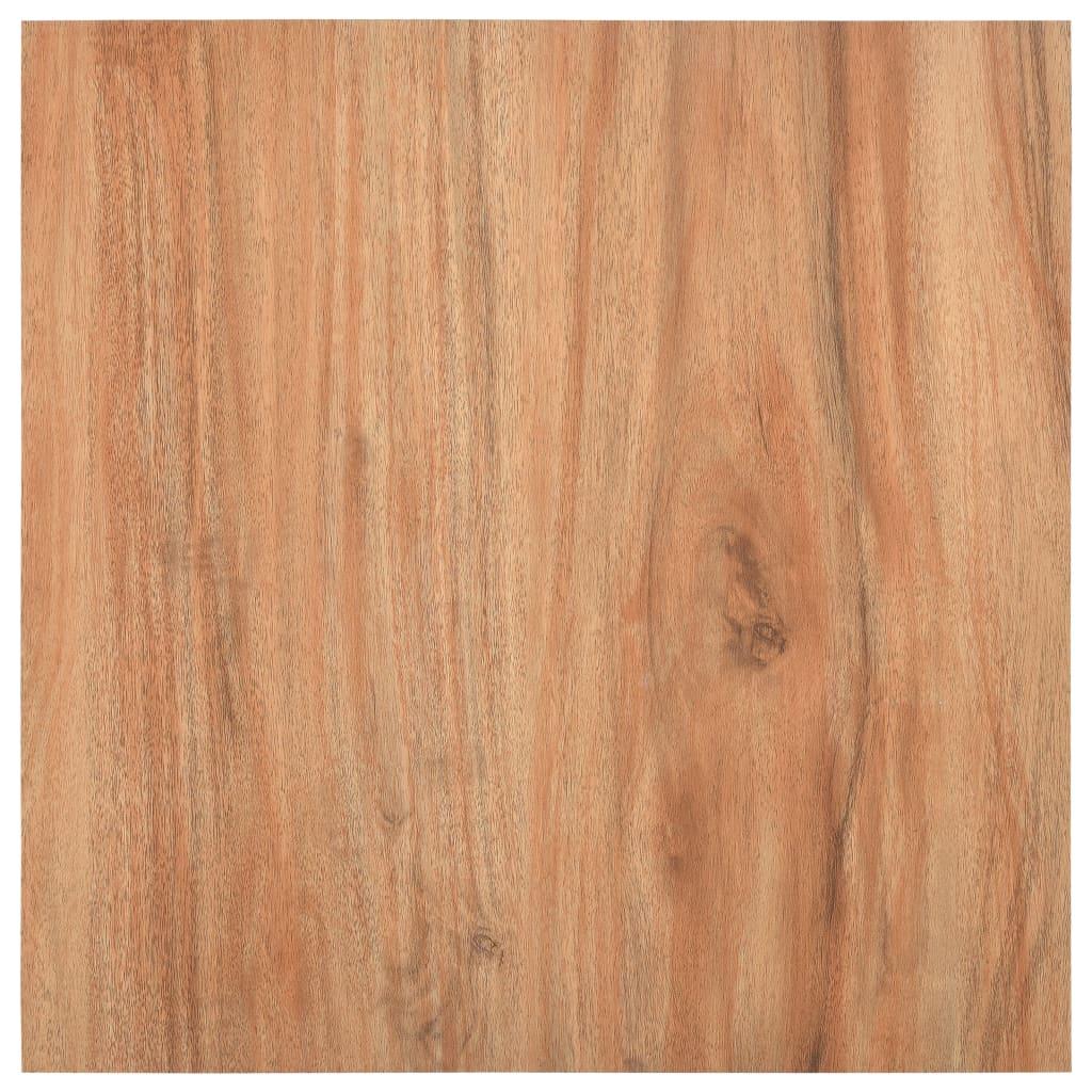 Samolepicí podlahové desky 5,11 m² PVC barva světlého dřeva