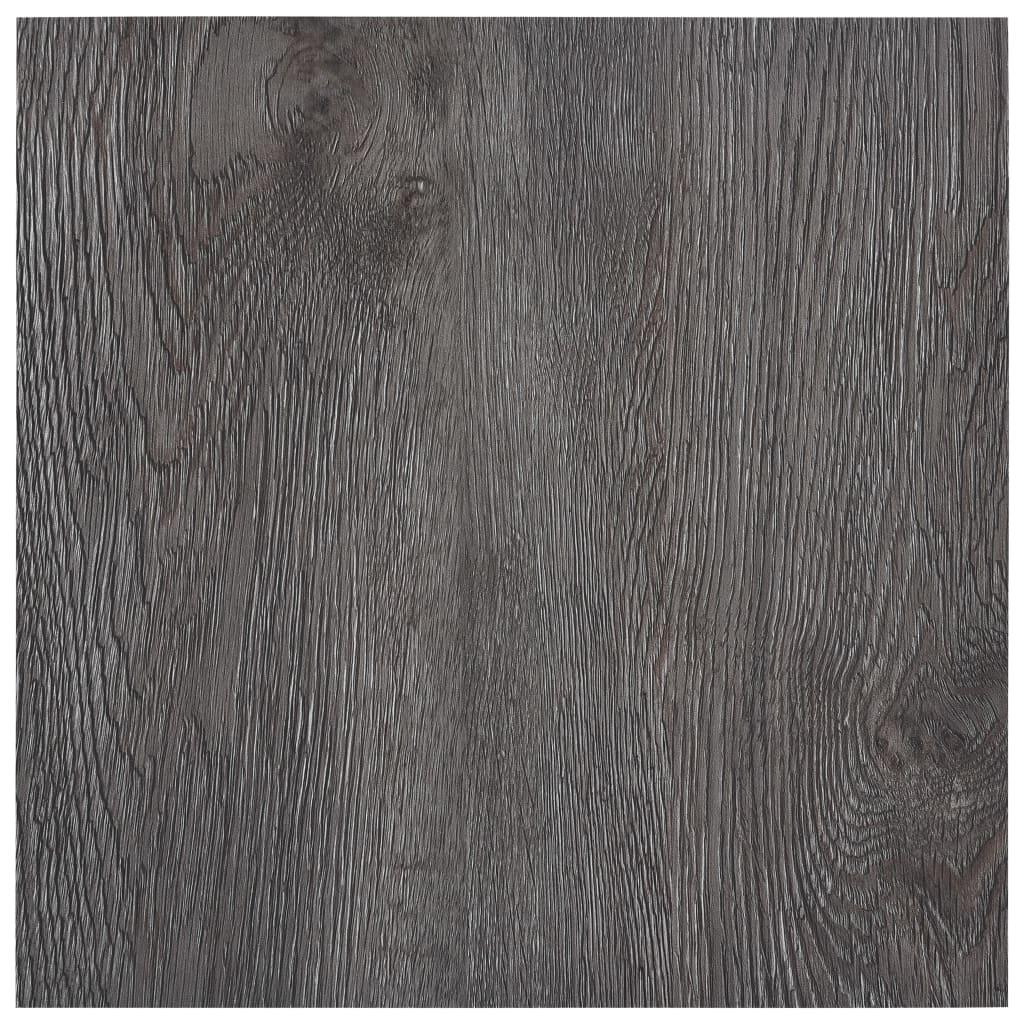 vidaXL Samolepicí podlahové desky 5,11 m² PVC hnědé