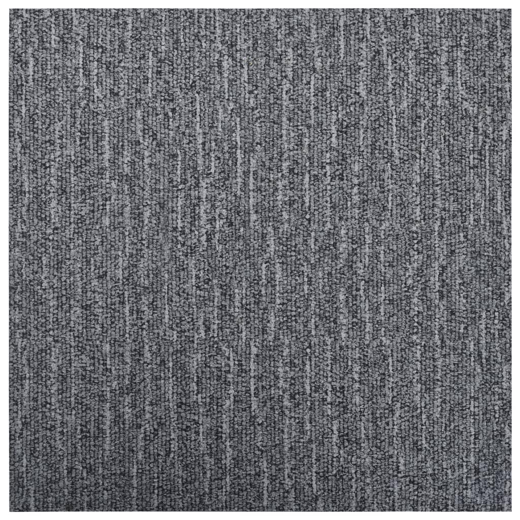 Samolepicí podlahové desky 5,11 m² PVC šedé