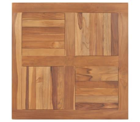 """vidaXL Table Top Solid Teak Wood Square 31.5""""x31.5""""x1"""""""