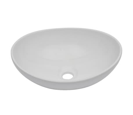vidaXL Vonios kambario baldų komplektas, 2d., juodas, keramika[3/14]