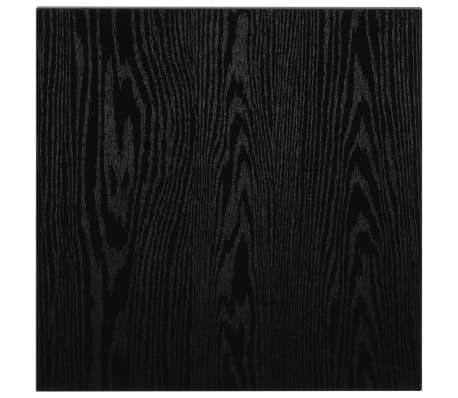 vidaXL Vonios kambario baldų komplektas, 2d., juodas, keramika[12/14]