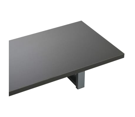 vidaXL Tridelni komplet kopalniškega pohištva iz keramike siv[10/15]