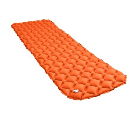vidaXL Aufblasbare Isomatte 58 x 190 cm Orange