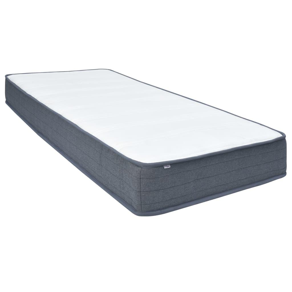 vidaXL Saltea de pat cu arcuri, 200 x 80 x 20 cm poza 2021 vidaXL