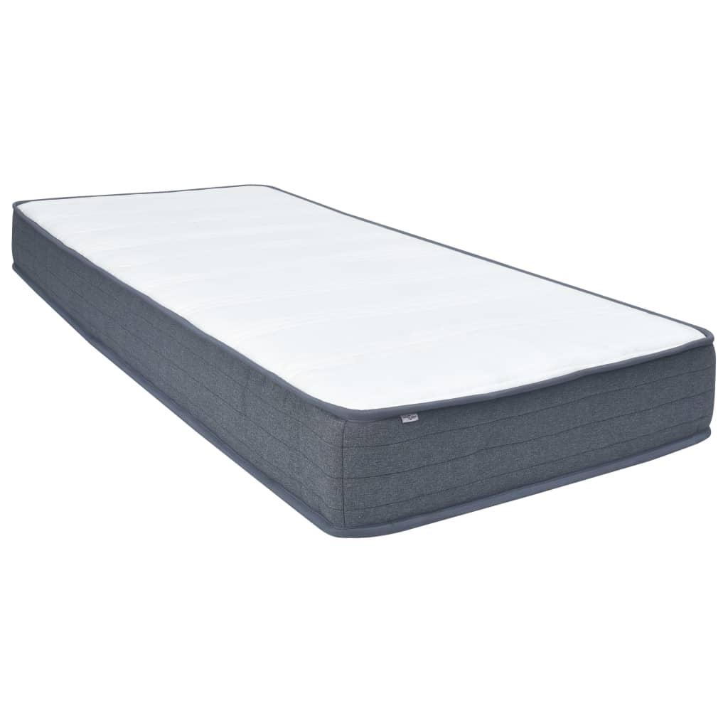 vidaXL Saltea de pat cu arcuri, 200 x 120 x 20 cm poza vidaxl.ro