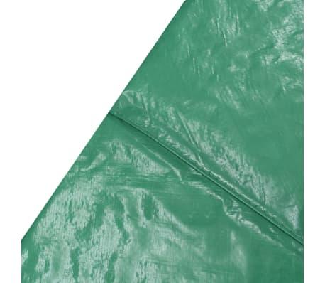 vidaXL Coussin de sécurité PE Vert pour trampoline rond 4,26 m[3/4]