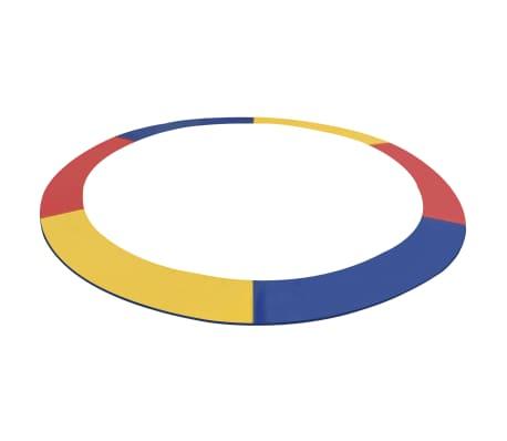 vidaXL Veiligheidsmat voor 3,05 m ronde trampoline PVC meerkleurig