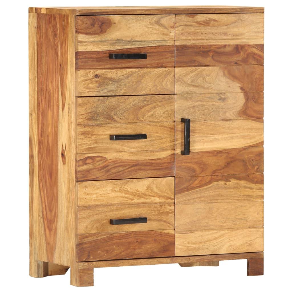 vidaXL Servantă, 58 x 30 x 75 cm, lemn masiv de sheesham imagine vidaxl.ro