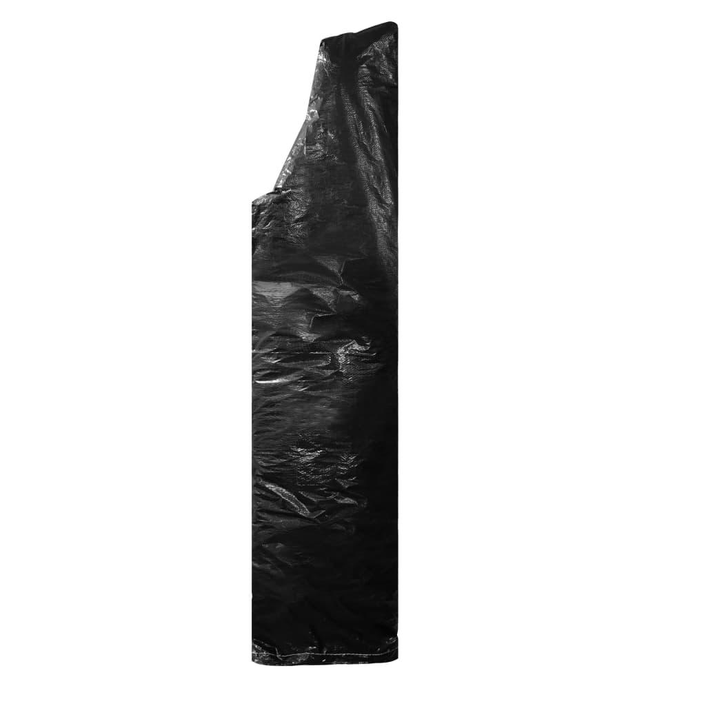 vidaXL Husă de umbrelă cu fermoar, 260 cm, PE imagine vidaxl.ro