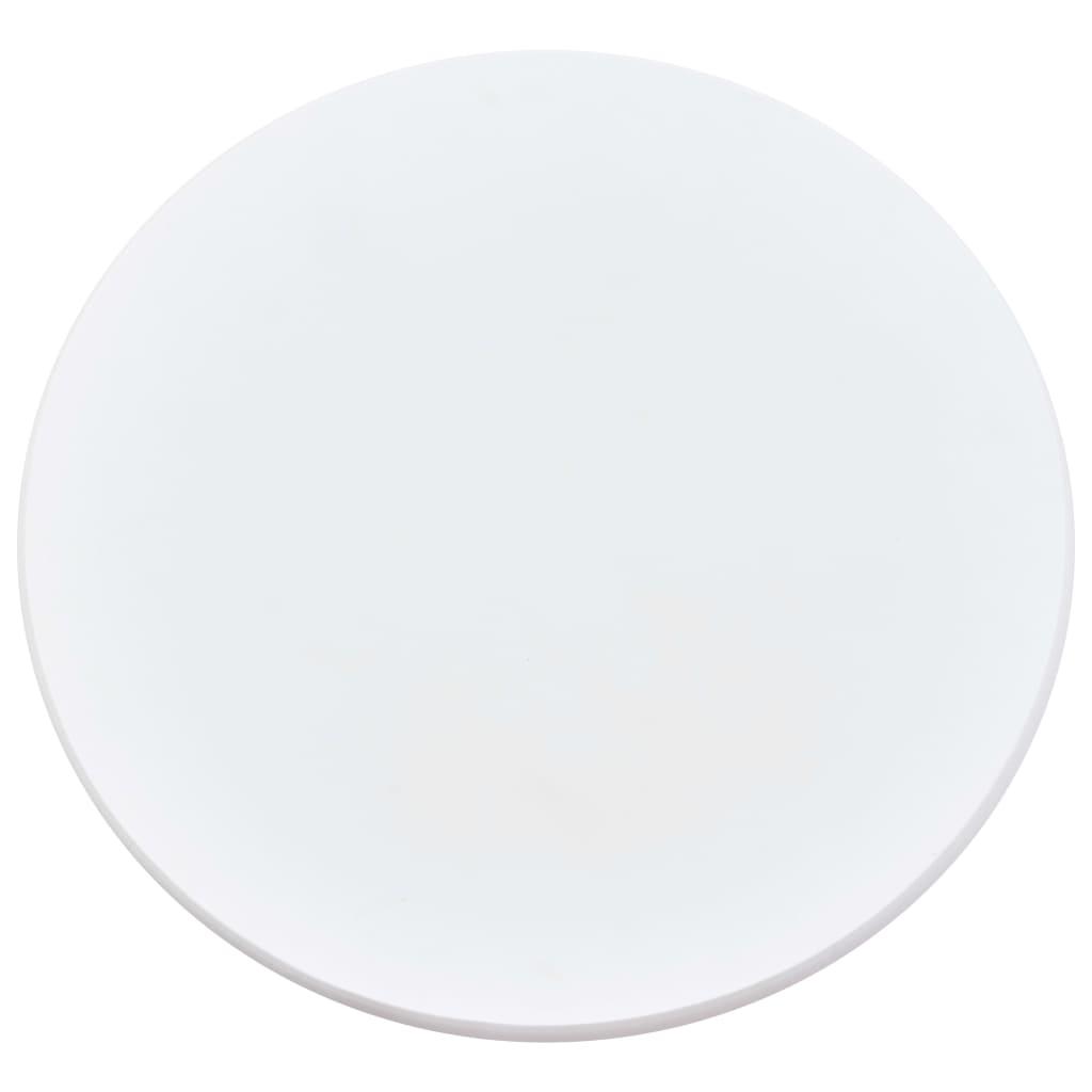 vidaXL 5-delige Barset kunststof wit