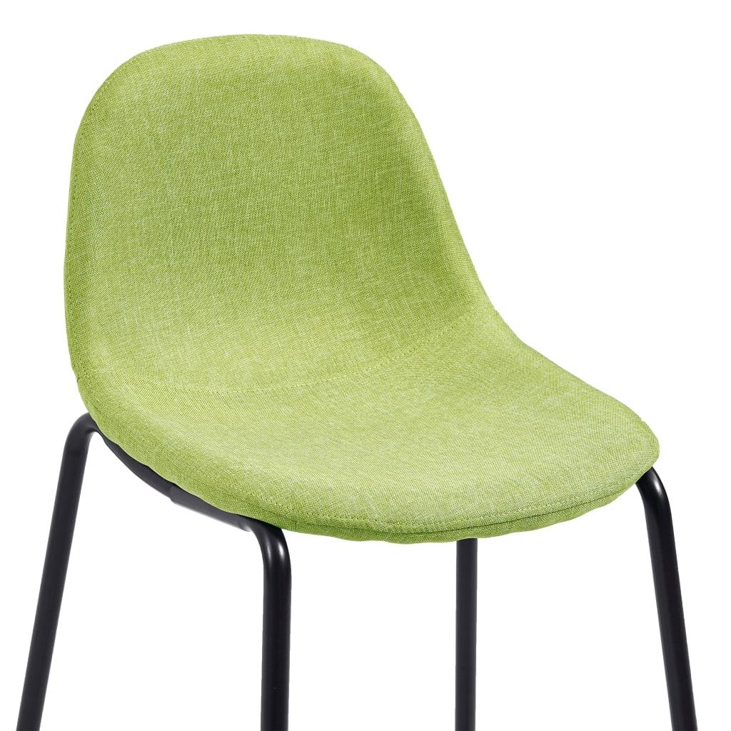 vidaXL 5-delige Barset stof groen