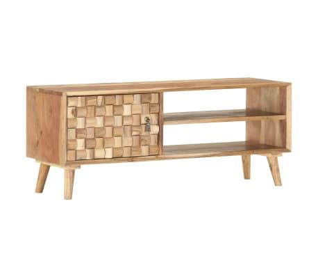 vidaXL Tv-meubel 100x35x40 cm massief acaciahout