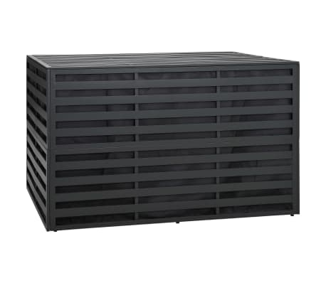 vidaXL Garden Storage Box Aluminium 150x100x100 cm Anthracite