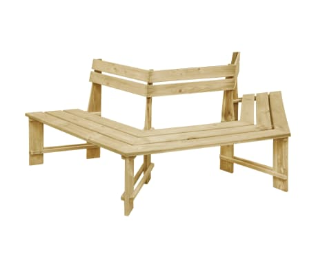 vidaXL Zahradní lavice 240 cm impregnované borové dřevo