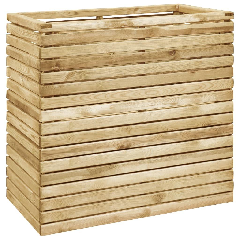 vidaXL Strat înălțat, 100x50x100 cm, lemn de pin tratat imagine vidaxl.ro