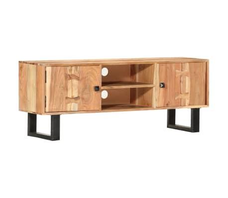 vidaXL Tv-meubel 118x30x45 cm massief acaciahout