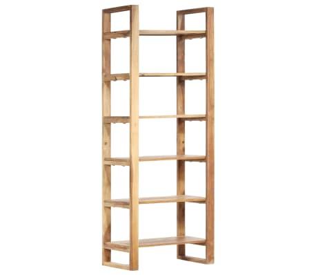 vidaXL Estantería de madera maciza de sheesham 60x38x160 cm