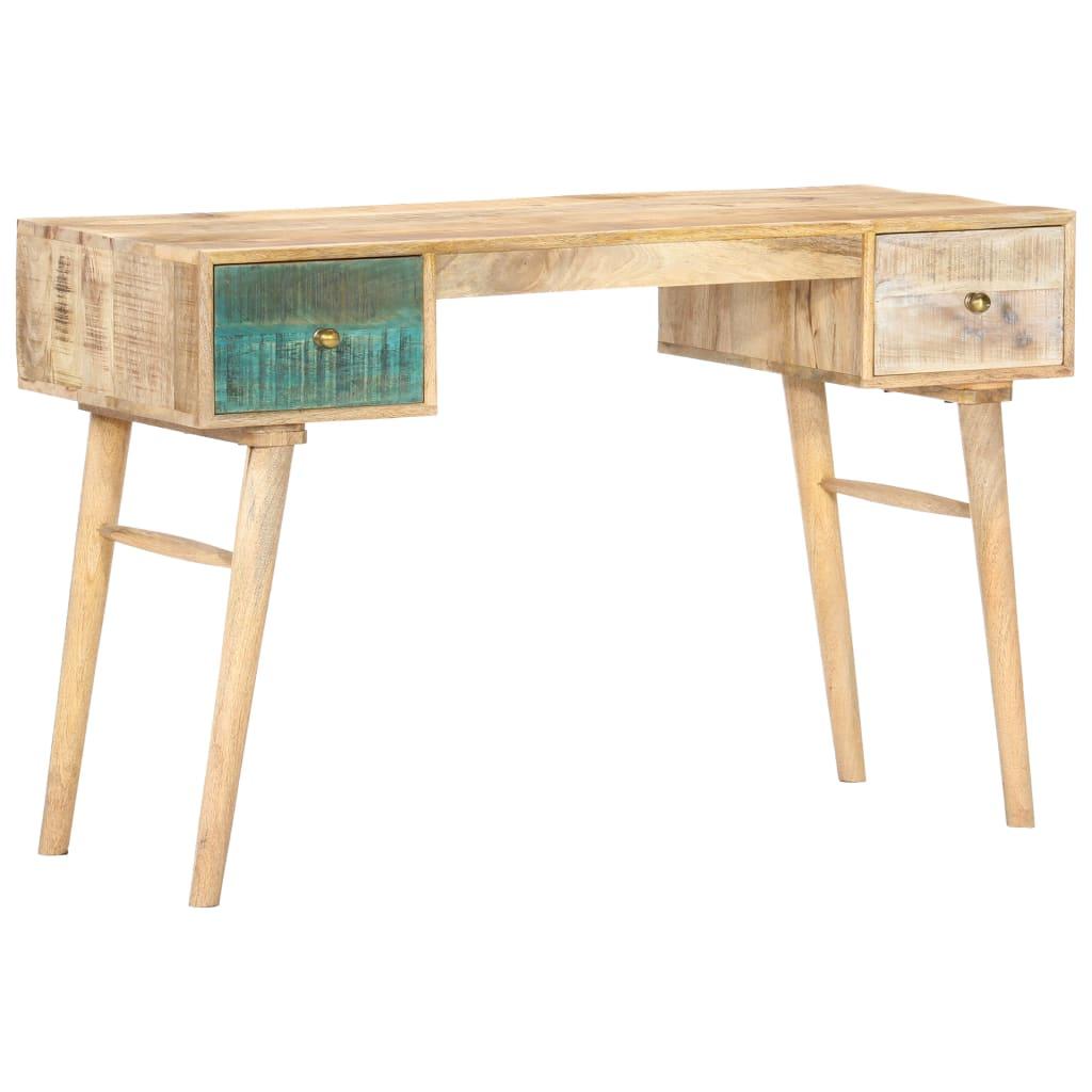 vidaXL Birou, 118 x 50 x 75 cm, lemn masiv de mango poza vidaxl.ro