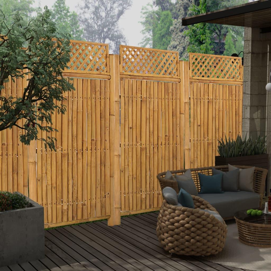 Võrega aiapaneel, bambus, 9..