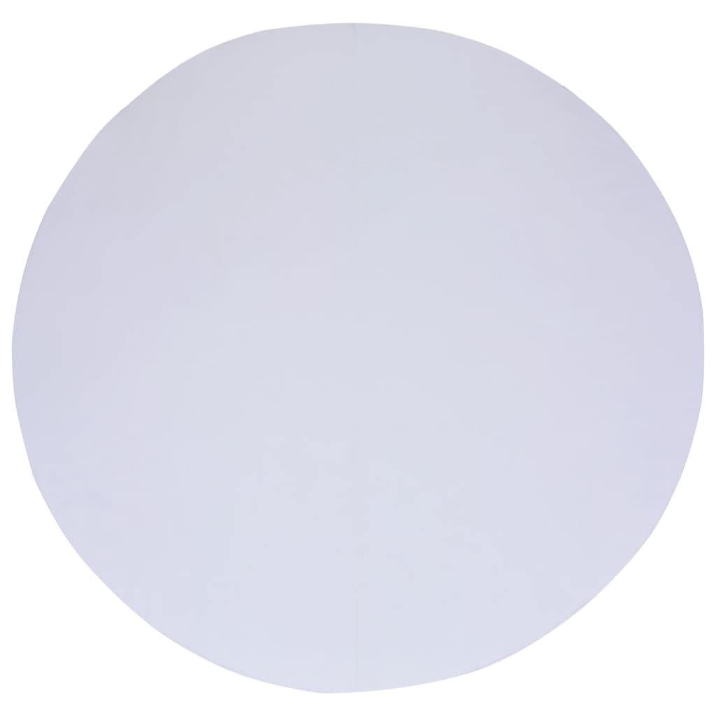 vidaXL Zwembadgrondzeil 460 cm geotextiel wit