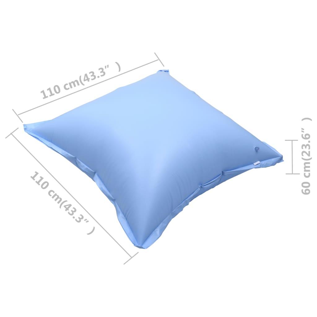 vidaXL Winterluchtkussen voor bovengronds zwembad 4 st opblaasbaar PVC