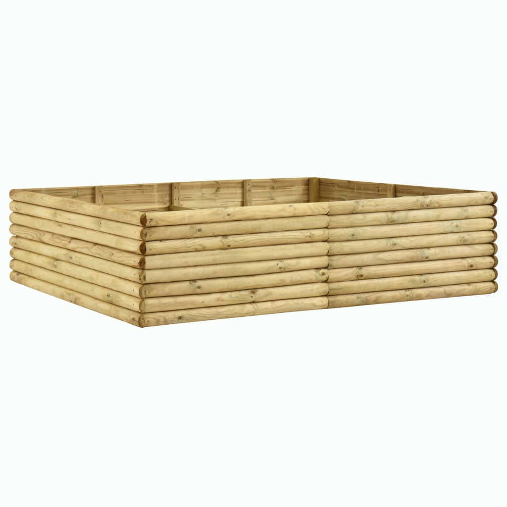 vidaXL Plantenbak 200x150x48 cm 19 mm geïmpregneerd grenenhout