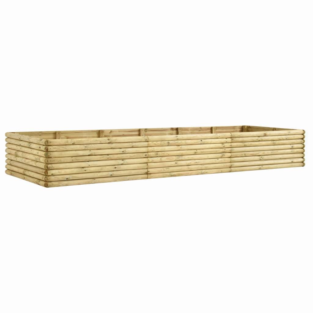 vidaXL Plantenbak 300x50x48 cm 19 mm geïmpregneerd grenenhout