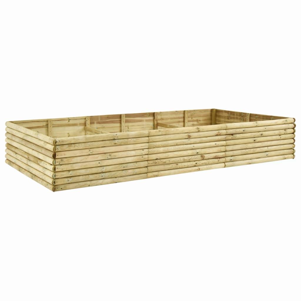 vidaXL Plantenbak 300x150x48 cm 19 mm geïmpregneerd grenenhout