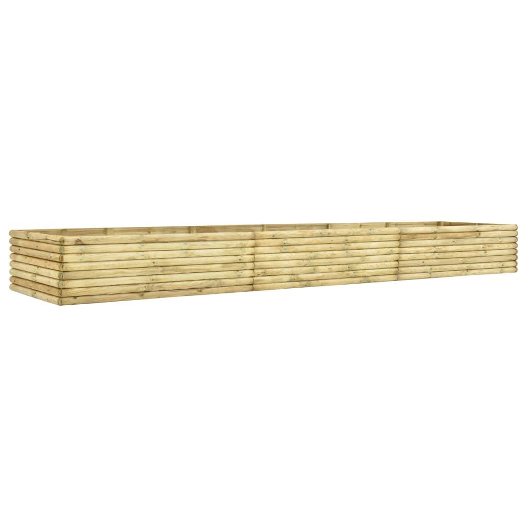 vidaXL Plantenbak 450x50x48 cm 19 mm geïmpregneerd grenenhout