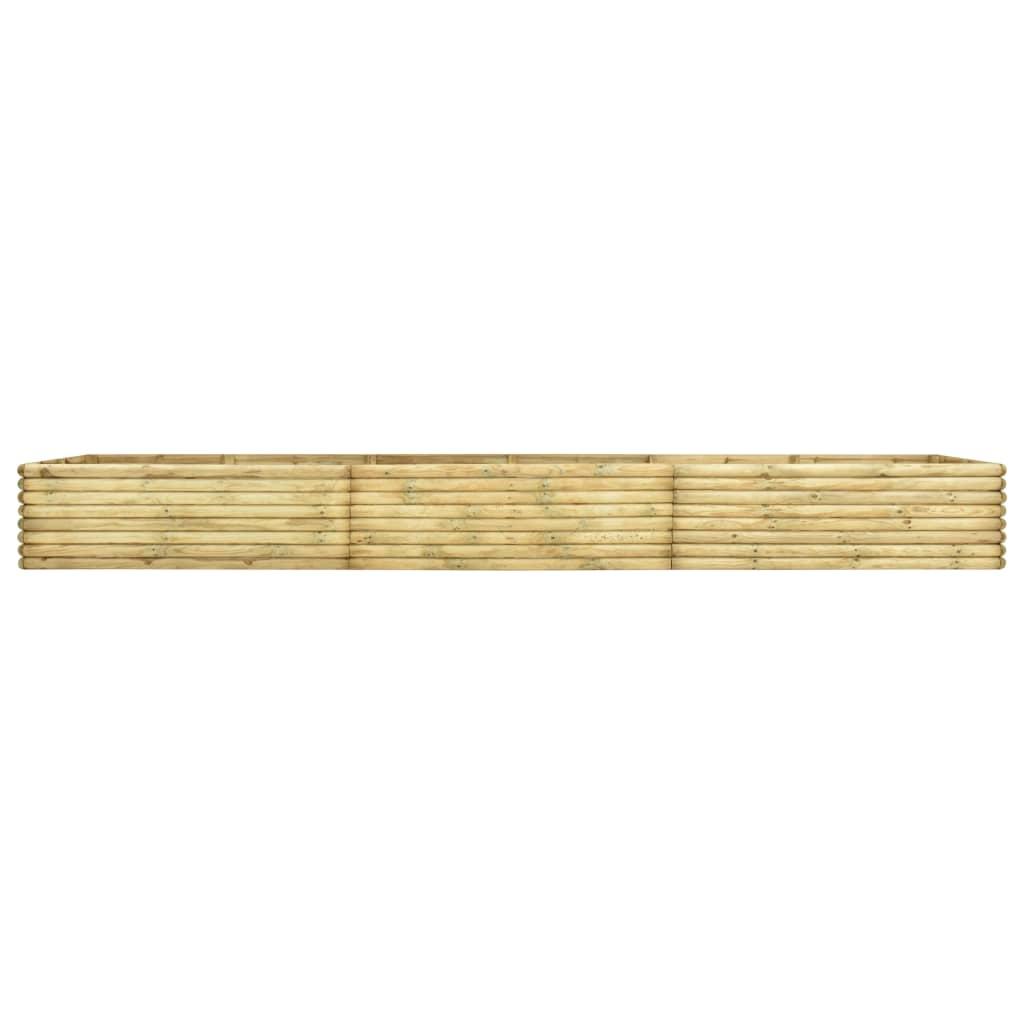 vidaXL Ζαρντινιέρα 450x100x48 εκ. Πάχος 19 χιλ. Εμποτισμ. Ξύλο Πεύκου