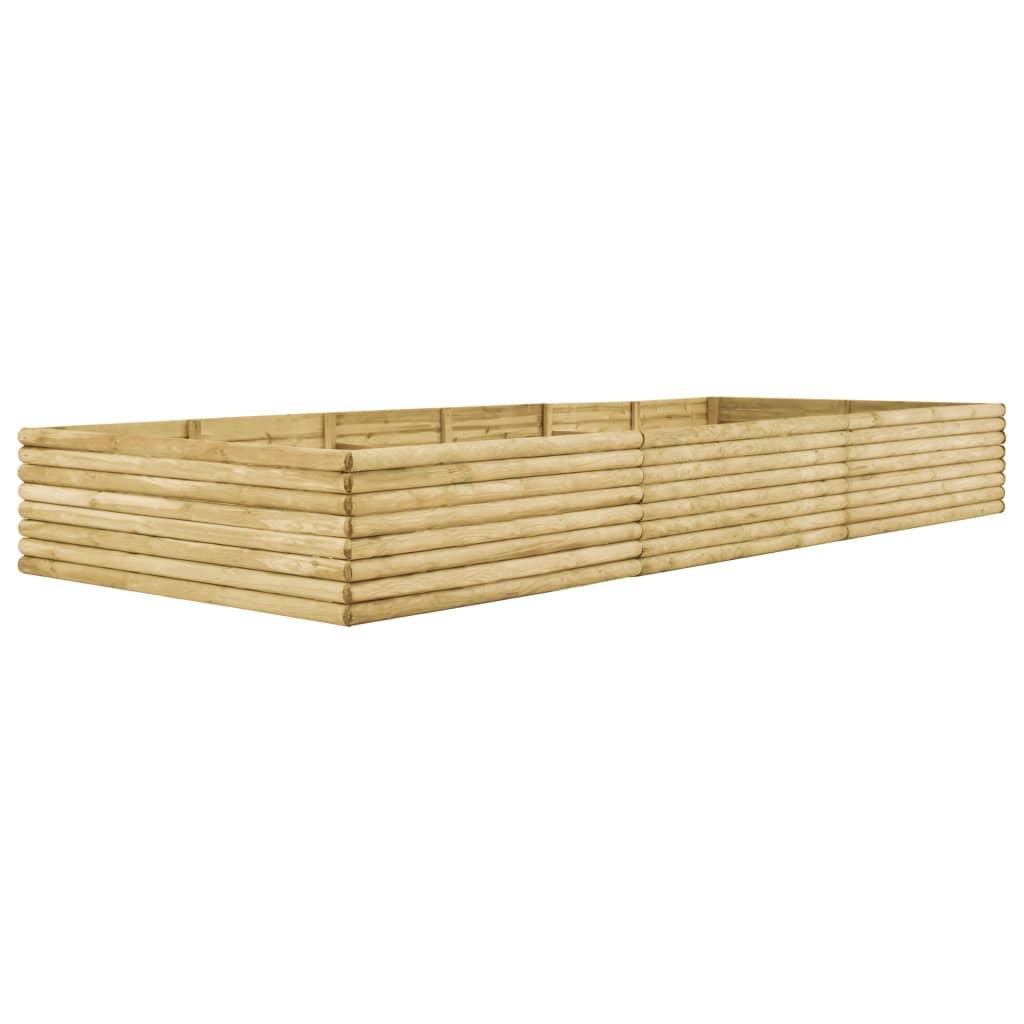 vidaXL Plantenbak 450x150x48 cm 19 mm geïmpregneerd grenenhout