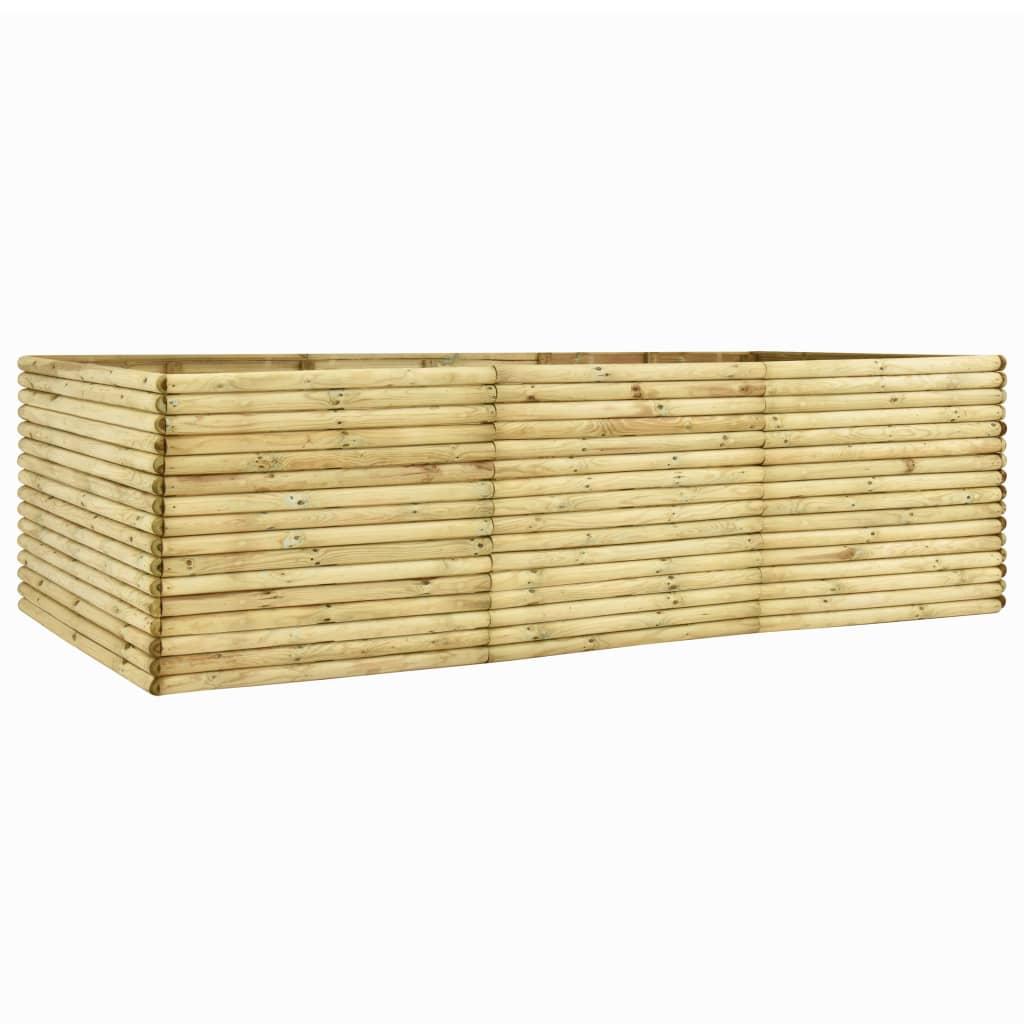 vidaXL Plantenbak 300x100x96 cm 19 mm geïmpregneerd grenenhout