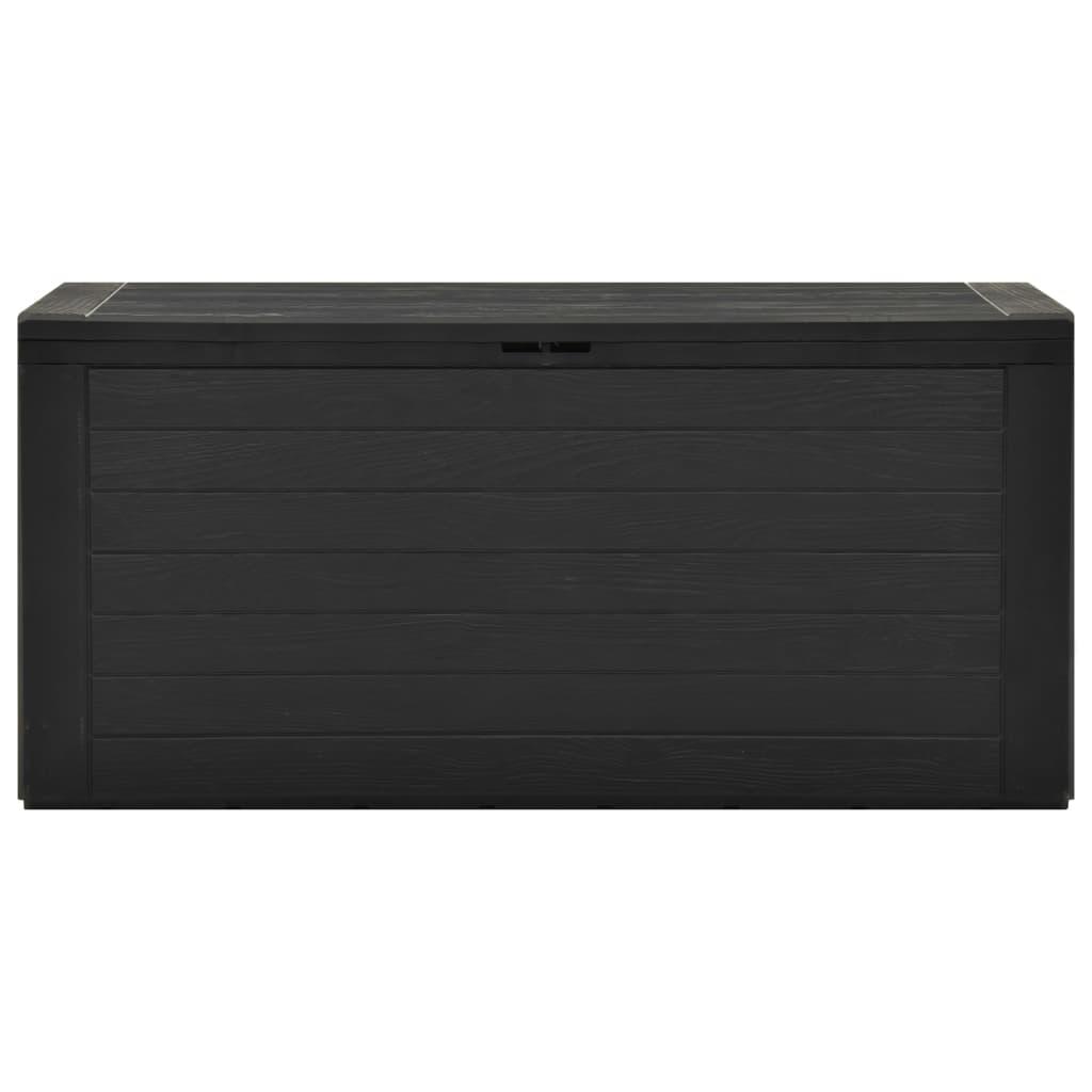 vidaXL Tuinbox 116x44x55 cm antraciet