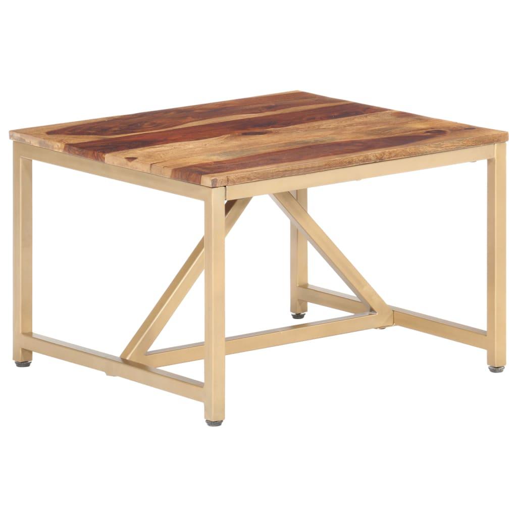 vidaXL Table d'appoint 60x60x40 cm Bois solide