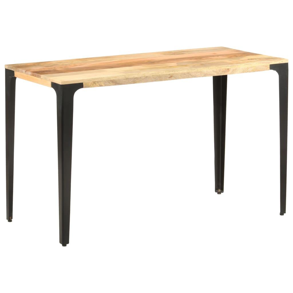 vidaXL Masă de bucătărie, 120 x 60 x 76 cm, lemn masiv de mango vidaxl.ro
