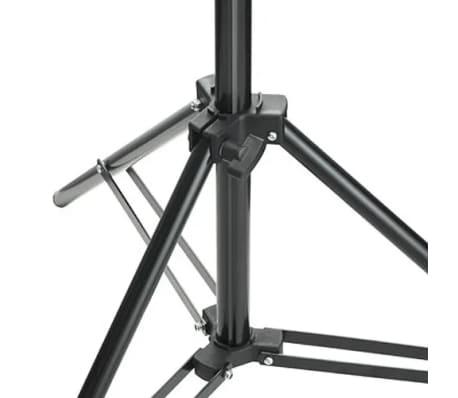 vidaXL Kit de studio photo avec toile de fond et boîte à lumière[14/14]