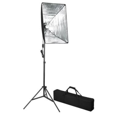 vidaXL Kit de studio photo avec toile de fond et boîte à lumière[10/14]