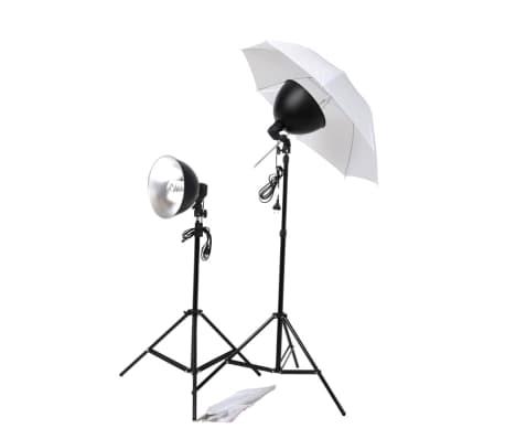vidaXL Kit de studio photo avec éclairage et toiles de fond[10/15]