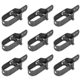 "vidaXL Wire Tensioners for Chain-Link Fence 9 pcs 3.9"" Gray"