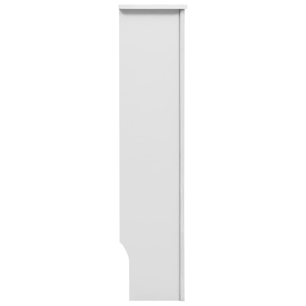 Radiatorombouwen 2 st 172x19x81,5 cm MDF wit