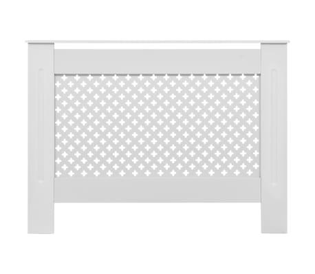 vidaXL Cache-radiateurs 2 pcs Blanc 112x19x81,5 cm MDF[4/8]