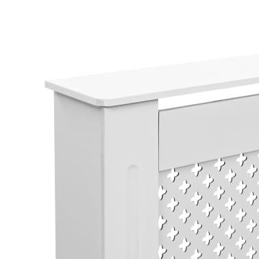 vidaXL Cache-radiateurs 2 pcs Blanc 112x19x81,5 cm MDF[6/8]