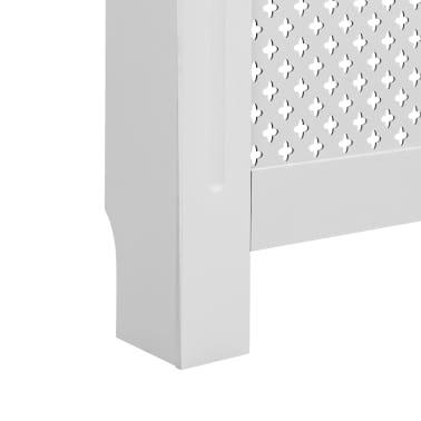 vidaXL Cache-radiateurs 2 pcs Blanc 112x19x81,5 cm MDF[7/8]