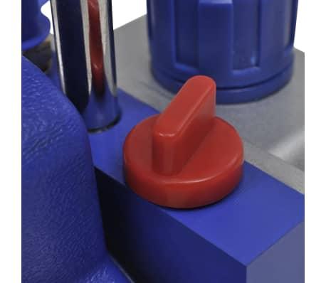 vidaXL Pompe d'aspiration à un étage et manomètres à 2 voies[7/16]